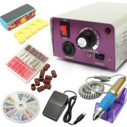 25000 Rpm Elektrisk Nagelkonst Drill Maskin Set Manikyr Kit