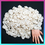 300x Protective Latex Bonding Tissue Finger Cots MEDIUM Nail Art