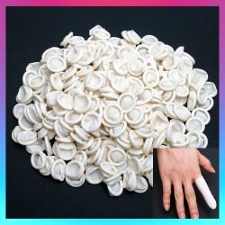 300x Protective Latex Bonding Tissue Finger Cots MEDIUM