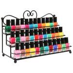 3 Tiers Nail Polish Stand Display Rack Cosmetic Makeup Organizer Nail Art