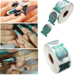 500pcs Professional Nail Art Tips Extension Forms Guide Stickers Nail Art