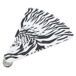 5X Zebra Stripe Manikyr Nagelfil