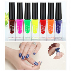 7 Colors Peel Off Vattenbaserade Nagellack Giftfri