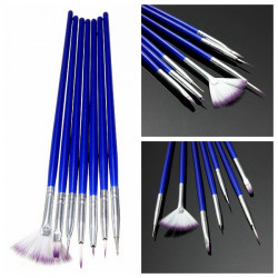 7Pcs Nail Art Design Painting Brush Dotting Drawing Pen Tool Set