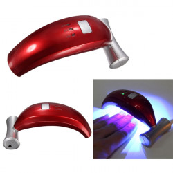 7W 100-240V Banana Shape Nagelkonst UV Gel LED Härdning Lampa