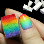 8pcs DIY Sponge Creative Nail Art Tools Nail Art