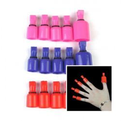 Acryl Gel Polish Remover tränken Wearable Nail Soakers Nagel Werkzeuge