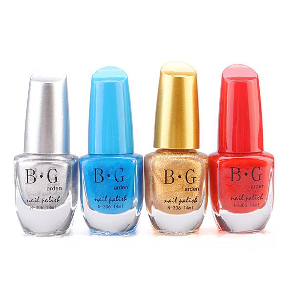 BG 46 Farben Nagellack Multicolor 14ML Nageldesign