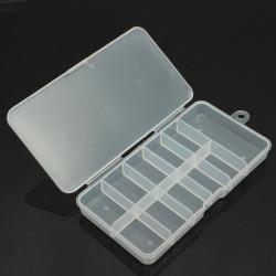 Gems Rhinestone Transparent Nail Art Tips Storage Box Container
