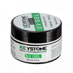 Keystone Nail Art Clear Color Gel UV Builder Lacquer