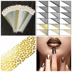 Mix Lace Pattern Stylish Nail Art Sticker Decal Tip Decoration