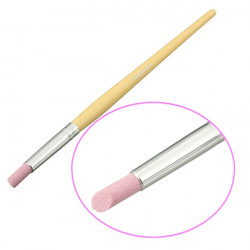 Nail Art Cuticle Stick Buffing Dead Skin Scrub Pusher Manicure