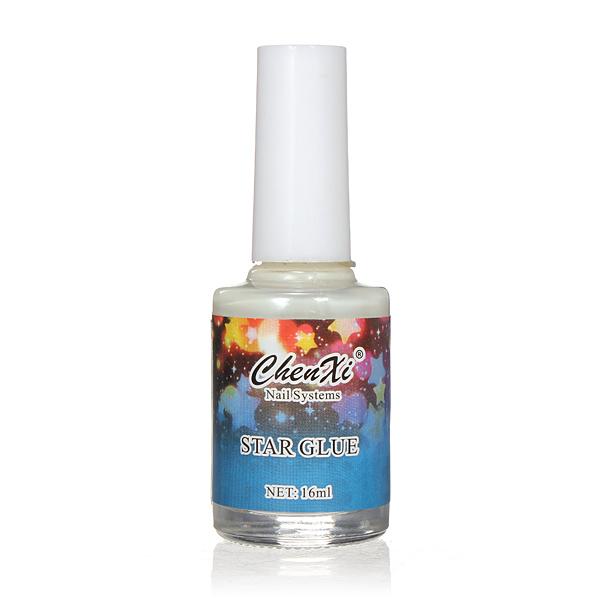 Nail Art False Manicure Tips Galaxy Star Stickers Glue 16ML Nail Art