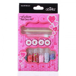 Nail Art Glitter Tips Decoration Glue File Set