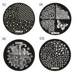 Nail Art Image Stamp Plates Polish Stamping Template DIY Nail Art