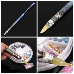 Rhinestone Picker Wax Pencil Nail Art Dotting Pen