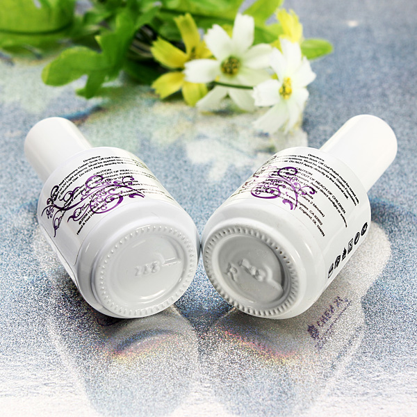 Soak Off UV Topcoat Top Base Gel Primer Nail Art Polish Set Nail Art