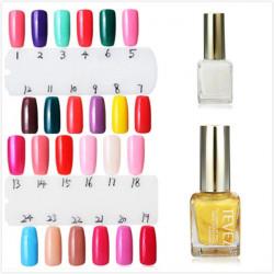 Tevez Soak Off Ren Nagellack 15ml 1-24 Färger
