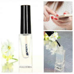 Transparent Peel Off Base Coat Top Coat 2 In 1 Nail Polish