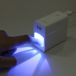 USB Supply LED Ljusbehandling Nagelkonst UV Gel Dryer Härdning Lampa