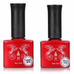 UV Gel Polish Topcoat Base Gel Primer Set Nail Art