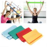1,2M Yoga Elastisk Stretch Belt Resistance Band Personlig Pleje