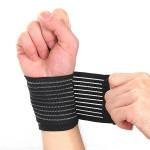 2stk Elastik Brace Protection Wrist Sport Compression Bandage Personlig Pleje