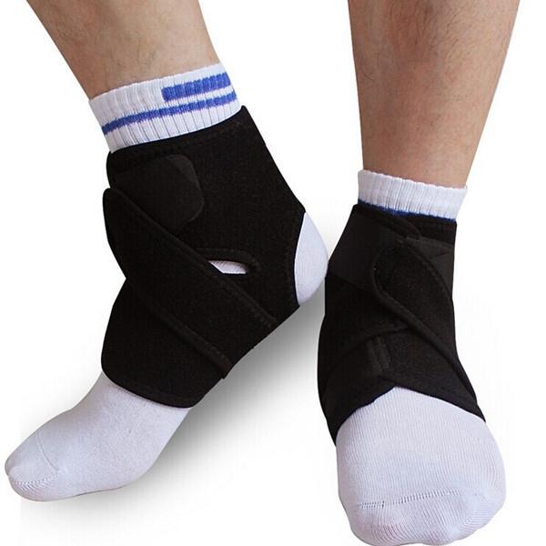 2st Elastisk Neopren Vristskydd Pad Sport Support Brace Hälsoprodukter
