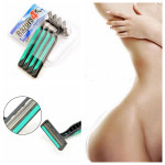 4Pcs Lady Men Safety Razor Shaver Hair Epilator Remover Shavers & Hair Removal