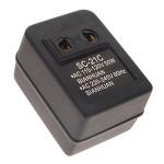 50W 110V bis 220V Spannungswandler Konverter Adapter SC 21C Rasieren & Haarentfernung