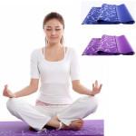 5MM PVC Utskrift Yogamatta Fukt Blanket 2 Färger Hälsoprodukter