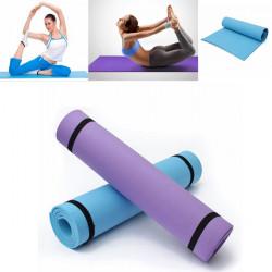 6mm EVA Motion Skummande Elastisk Yogamatta Halkfria Fitness