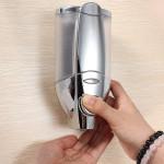 ABS Vægmonteret Sæbe Sanitizer Shampoo Dispenser Personlig Pleje
