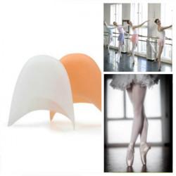 Ett Par Professionell Balettskor Silikongel Tåhättor