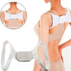 Justerbar Terapi Ryg Shoulder Brace Støtte Bælte Posture Corrector