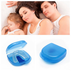 Anti Snarkning Munstycke Sovande Stöd Snore Stopper Munskydd Device