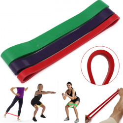 Korsfit Tension Resistance Band Exercise Loop Styrketræning Fitness