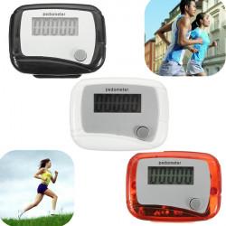 Digitale LCD Schritt Pedometer Fitness Walking Distance Running Zähler