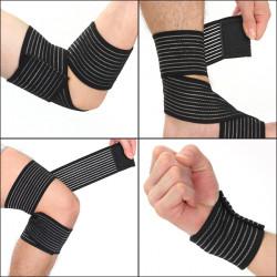 Eleastisk Brace Knäskydd Ankel Armbåge Wrist Kompressionsbandage