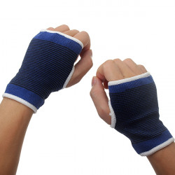 Eleastisk Palm Wrist Hand Support Glove Sport Gym Wrap Brace