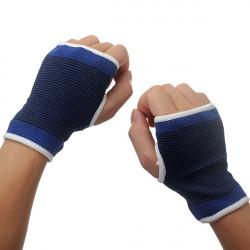 Eleastisk Palm Wrist Hand Support Glove Sport Gym Wrap Brace
