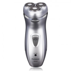 FLYCO FS330 Triple Blade Electric Shaver Rechargeable Rotary Razor
