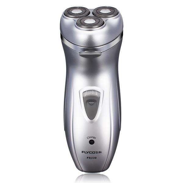 FLYCO FS330 Triple Blade Electric Shaver Rechargeable Rotary Razor Shavers & Hair Removal