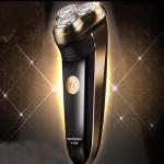 FlyCo FS360 Genopladelig Razor 220V Rotary 3D Elektrisk Barbermaskine Barbermaskiner & Trimmere
