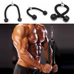 Fitness Udstyr Heavy Duty Tricep Reb Shoulders Træning Kabel Personlig Pleje