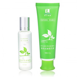 Green Tea Hair Removal Cream Depilatory Repair Liquid Suit