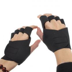 Neopren Radfahren Antirutsch Gymnastik Sport Handschuhe