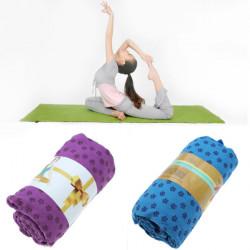 Rutschfeste Yogamatte Handtuch Blanket 183x63cm