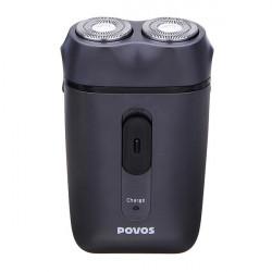 POVOS PQ2601 Dual-blade Rotary Heads Shaver Electric Razor