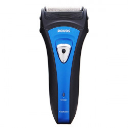 POVOS PS6305 Washable Electric Rechargeable Foil Razor Shaver